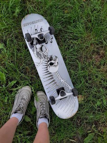 Скейтборд деревянный(канадский клен)