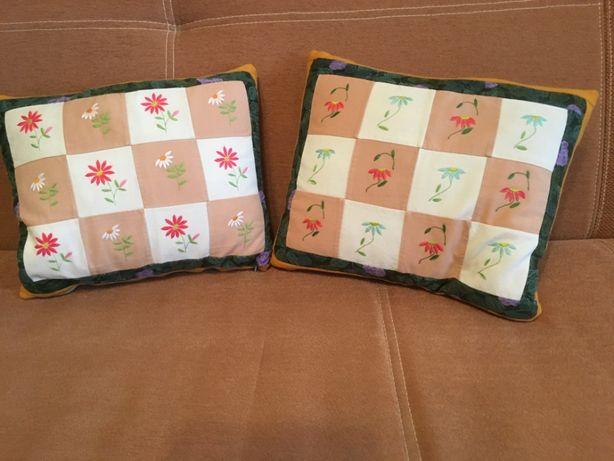poduszka dekoracyjna, ręcznie haftowana