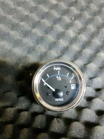 Wskaźnik zegar poziomu paliwa chrom