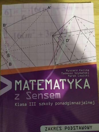Matematyka z sensem klasa III