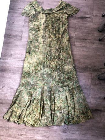 Piękna długa sukienka, suknia wieczorowa, wesele XL