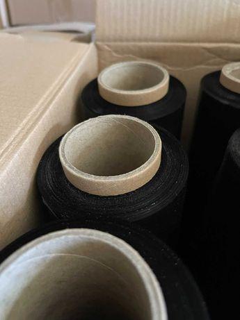Стрейч плівка - чорна 300м та прозора 500м, відмінна якість
