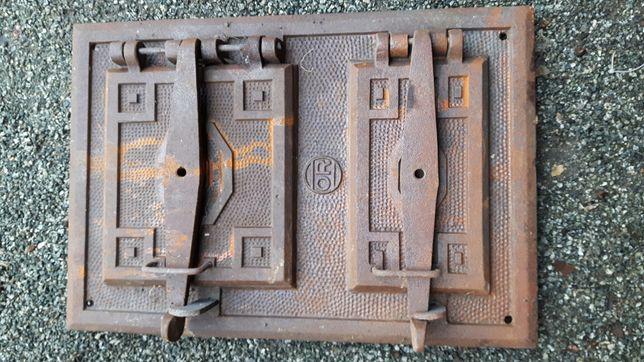 Drzwiczki żeliwne piaskowane