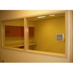Chumbo em Vidro chumbineo ou plumbífero para proteçoa radiologica