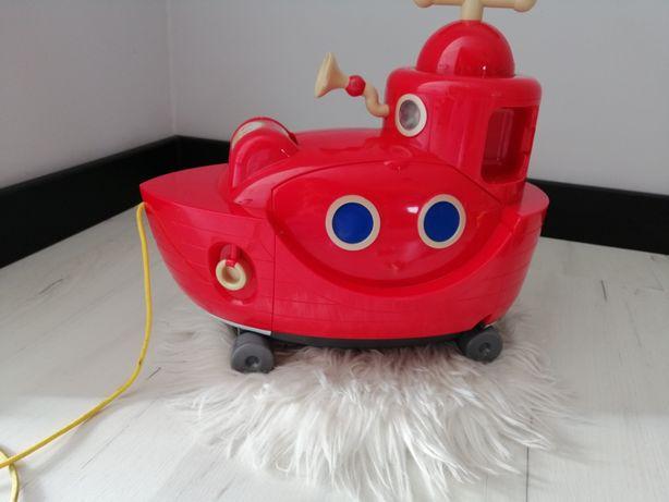 Kręciołki Zabawka interaktywna Wielka Czerwona łódź