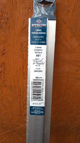 Listwa łączeniowa do paneli 90 cm srebna