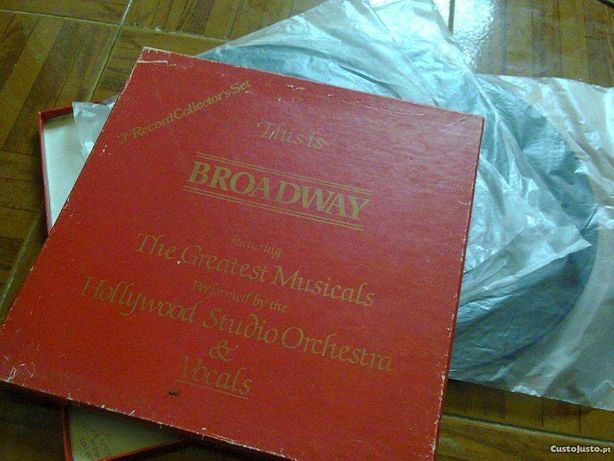 Sucessos da Broadwey, caixa com 3 discos, vinil