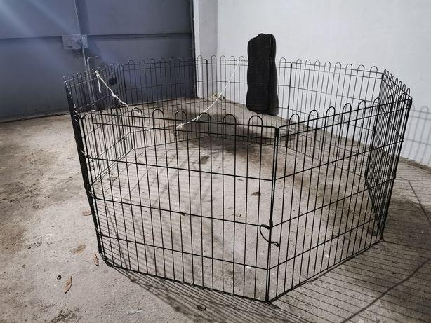 Kojec klatka dla psa lub królika