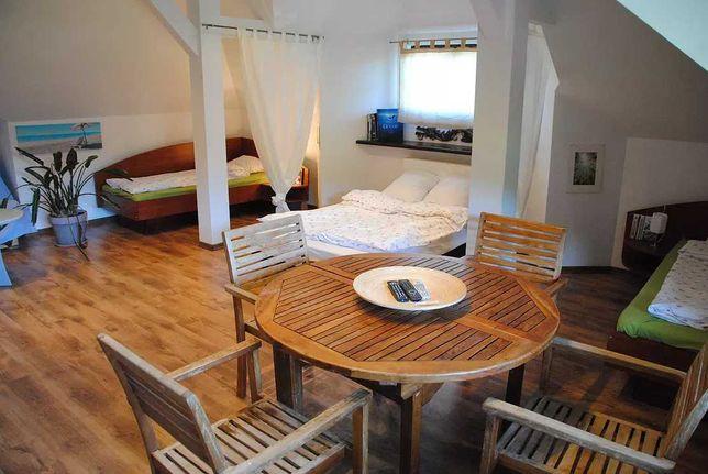 Villa Chamonix - dom nad jeziorem, na wynajem - Żagle,Kitesurfing, SUP