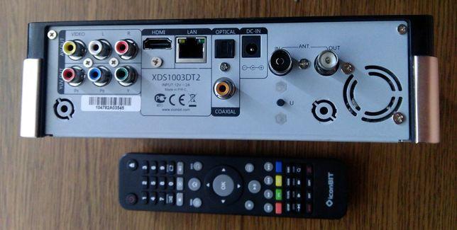 3D DVB-T2 медиаплеер IconBit XDS1003DT2