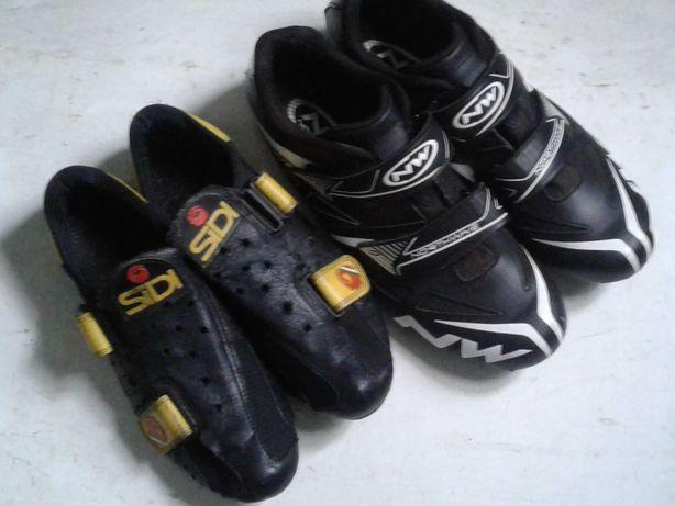 Шоссейная обувь(велотуфли) SIDI и Northwave