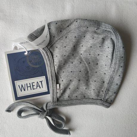 Чепчики для новорожденных 46 и 48 WHEAT