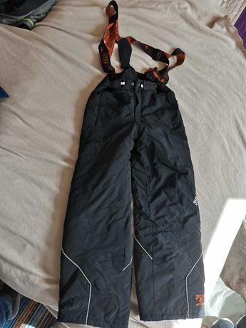 Spodnie narciarskie z szelkami chłopięce roz. 140