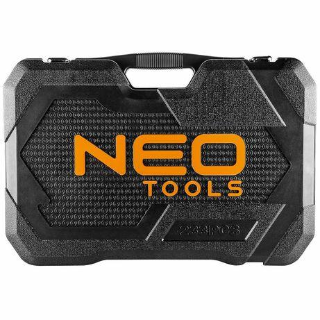 """Neo Tools klucze nasadowe 1/2"""", 3/8"""", 1/4"""", zestaw 233 elementów"""
