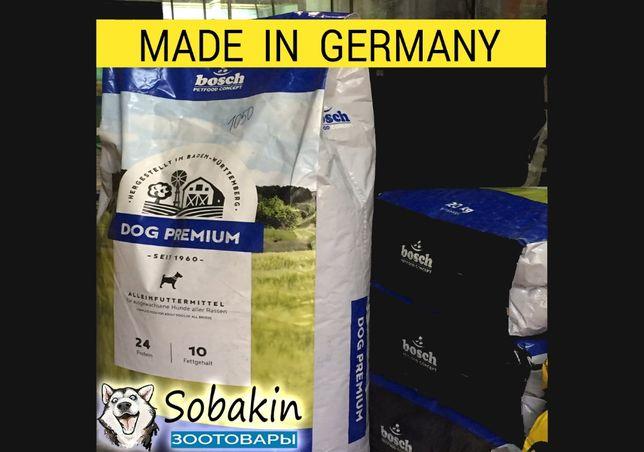 Корм для собак BOSCH (Бош) DOG Premium, 20 кг • Оригинал •