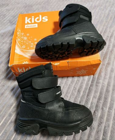 Зимние ботинки demar matti, чоботи зимові, сапоги