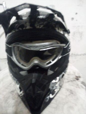 Kask motocross  enduro