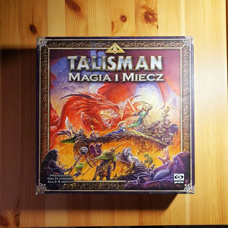 Używana gra planszowa Talisman: Magia i Miecz- 4. Edycja