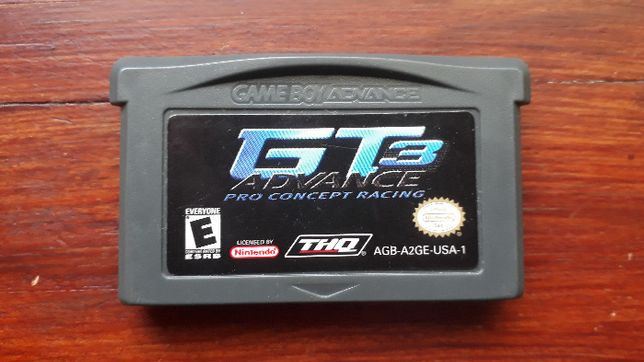 gra gameboy advance GT3 Pro Concept Racing
