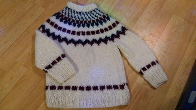 wełniany sweterek roz.M