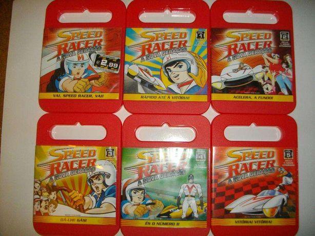 6 DVD Speed Racer - A nova geração (26 episódios)