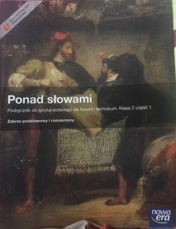 Podręcznik do języka polskiego - Ponad słowami
