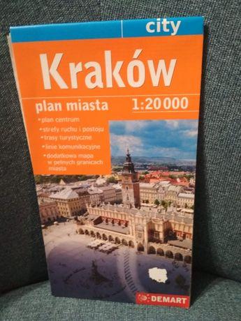Plan Krakowa 1 : 20 000