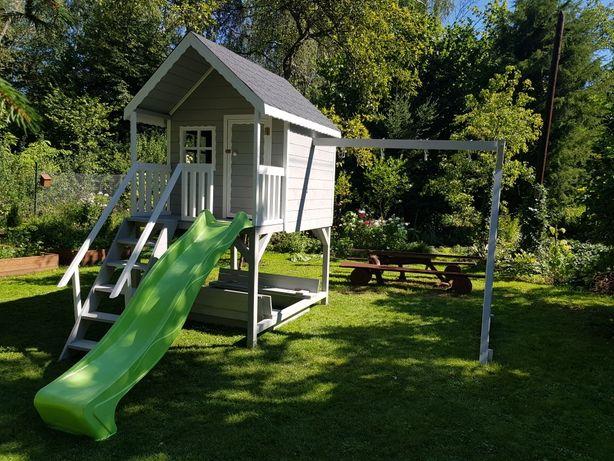 Domek dla dzieci ,plac zabaw, huśtawka, zjeżdżalnia