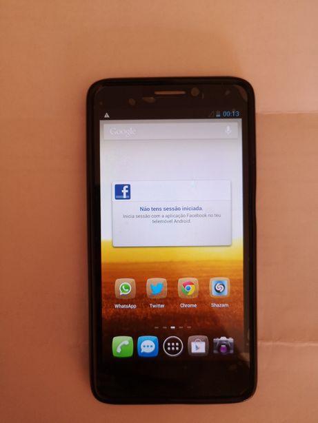 Vendo smartphone Alcatel desbloqueado como novo