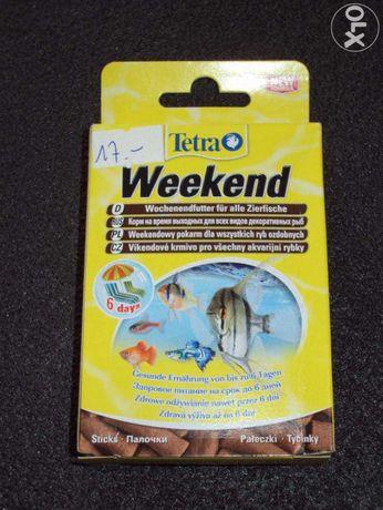 TETRA Weekend pokarm 10szt. pałeczek do 6 dni