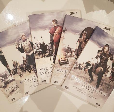 Wielcy Wodzowie seria BBC dvd
