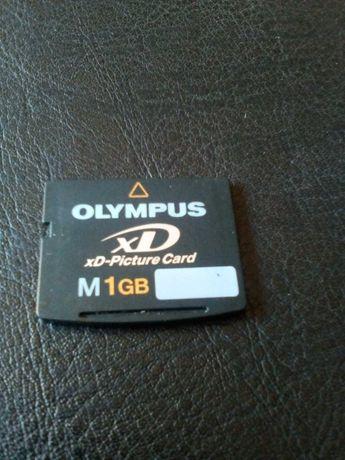 Карта памяти Olympus 1 gb