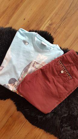 Cudny zestaw:) orginalne spodenki TOPMAN t-shirt MINIONS roz S