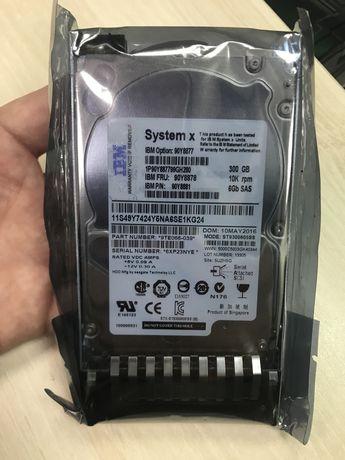 Серверный жесткий диск Lenovo 300gb 10k 6gbps SAS 2.5 SFF G2HS HDD