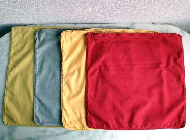 Conj. 4 Capas p/ Almofada em Linho e Algodão IKEA