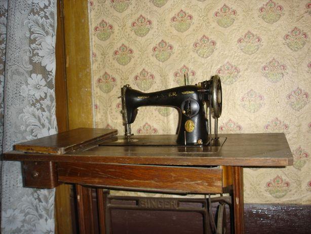 Máquina de Costura de Ferro Vintage Singer