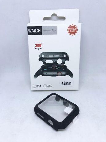 Capa protectora 360º com película de vidro temperado Apple Watch 42mm