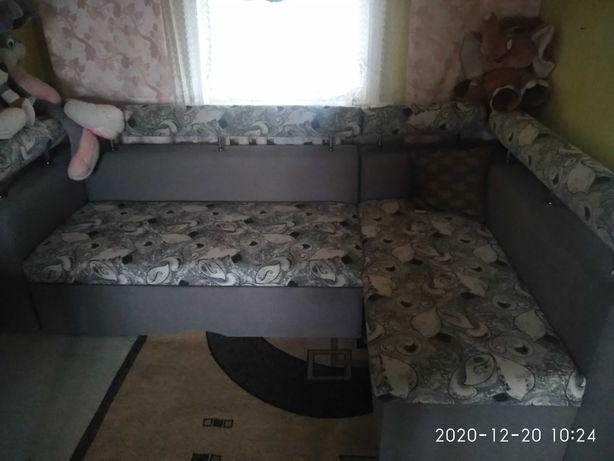 Угловой диван,мягкий уголок
