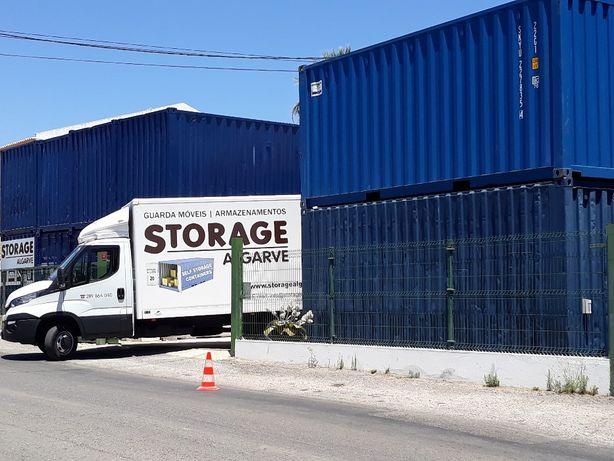 Armazenamento Self Storage em Contentor ou boxes em recinto Fechad