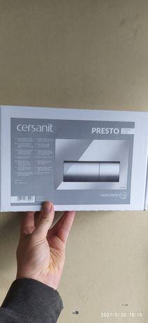 Przycisk spłukujący CERSANIT PRESTO CHROM