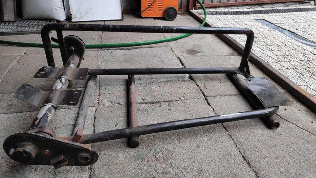 Wózek boczny Duna - Panonia rama