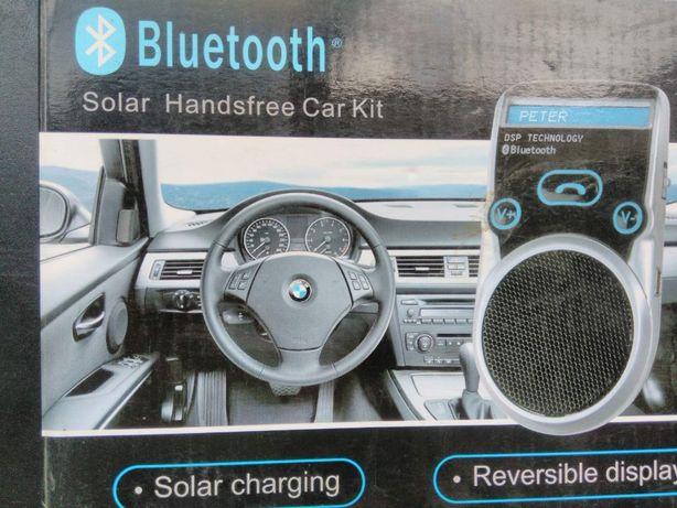 """Автомобильный bluetooth комплект """"свободные руки"""" на солнечной батарее"""