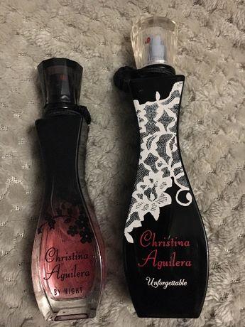 Perfumy Christina Aquilera By Night + Unforgettable Zestaw 5zl wysyłka