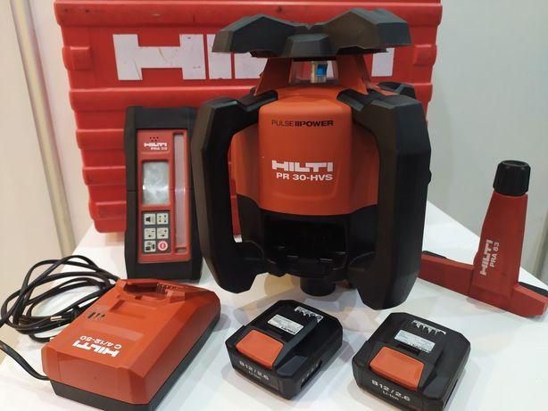 HILTI PR 30-HVS A12 niwelator laserowy ze spadkami rotacyjny 2xAku