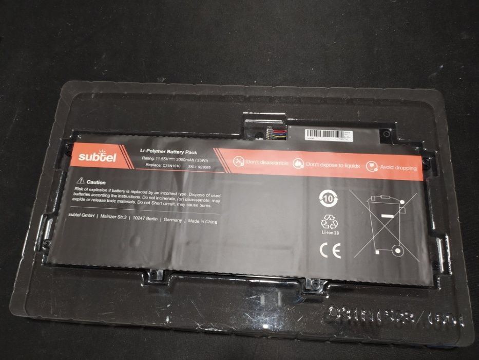 Bateria nova para Asus ZenBook UX330 UX330C U3000C UX330CA UX330UA