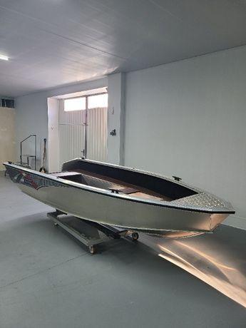 алюминиевая лодка windboat 4.0 evo