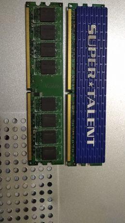 Оперативная память 2 плашки (1 - 1 GB, 2 - 2 GB)