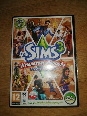 The Sims 3 wymarzone podróże dodatek