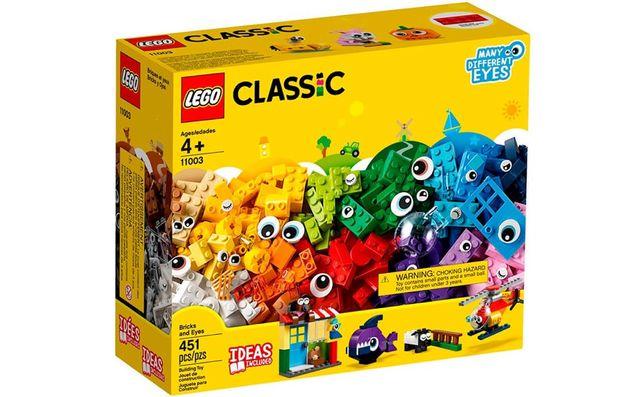 LEGO Classic Кубики и глаза