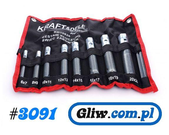 #3091 Klucze rurowe do świec żarowych zapłonowych 6-22mm